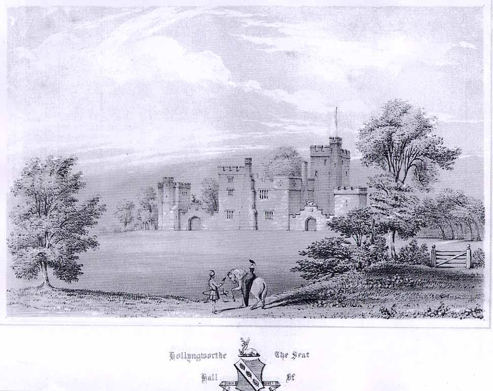 Hollingworth Hall 1700 tal